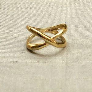 Stella & Dot gold ring
